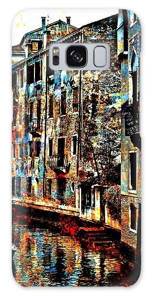 Venice In Grunge Galaxy Case