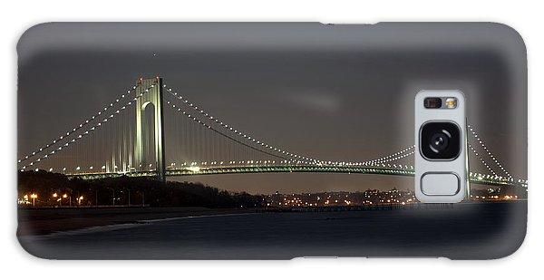 1 Verrazano Narrows Bridge At Twilight Galaxy Case
