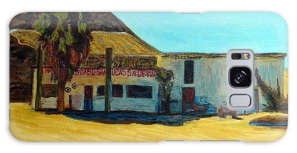 Vieja Gasolinera De Cabo Galaxy Case by Gerhardt Isringhaus