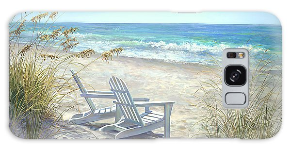 Seashore Galaxy Case - View For Two. by Laurie Snow Hein