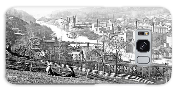 Galaxy Case - View Of Conshohocken Pennsylvania C 1900 by A Gurmankin