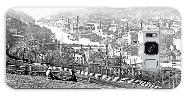 View Of Conshohocken Pennsylvania C 1900 Galaxy Case