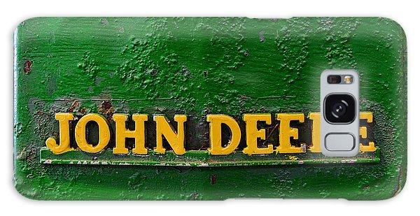 John Deere Galaxy Case - Vintage John Deere Tractor by Paul Ward
