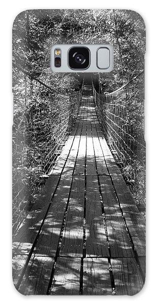 Walk Through Woods Galaxy Case