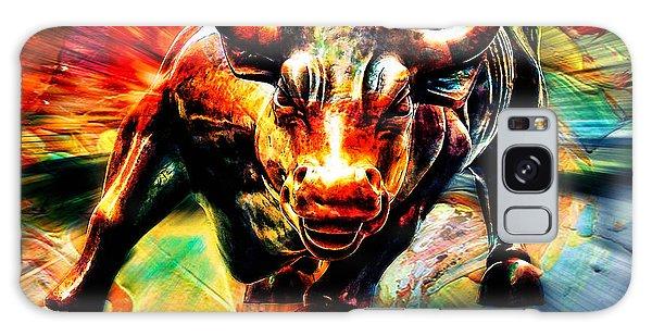 Bull Galaxy Case - Wall Street Bull by Marvin Blaine