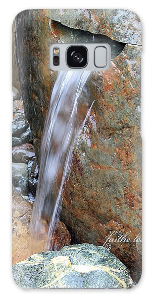 Water And Rocks II Galaxy Case