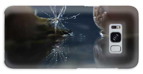 Water Droplets Galaxy Case by Eden Baed