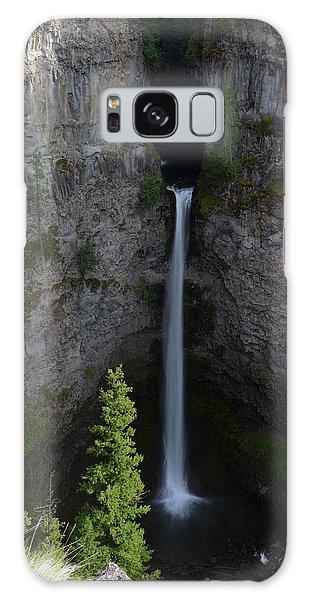 Waterfall In Banff Galaxy Case