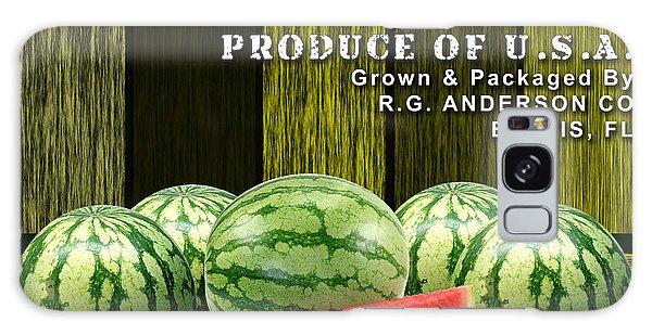 Watermelon Farm Galaxy Case by Marvin Blaine