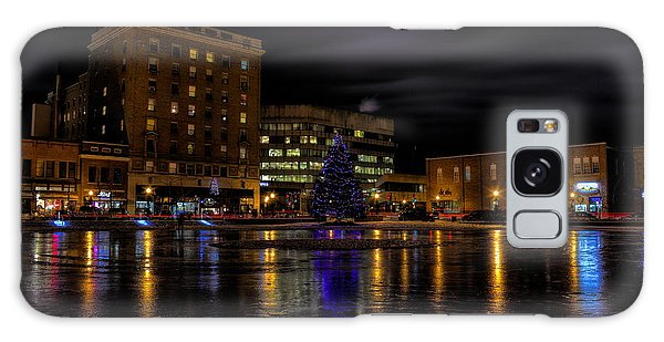 Wausau After Dark At Christmas Galaxy Case