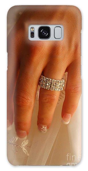Whining Galaxy Case - Wedding Ring by Michal Bednarek