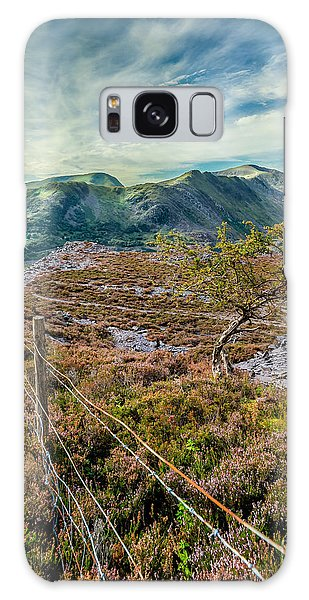 Heather Galaxy Case - Welsh Mountains by Adrian Evans