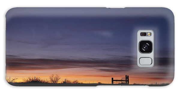 West Texas Sunset Galaxy Case