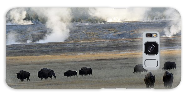 Where The Buffalo Roam Galaxy Case