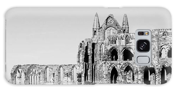 Whitby Abbey Panorama Galaxy Case