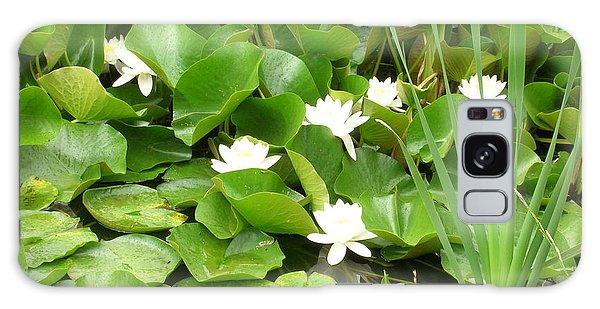 White Lotus Galaxy Case