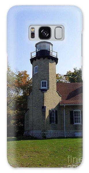White River Light Station Galaxy Case