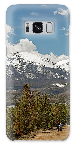White Mountain National Forest Galaxy Case - White River National Forest Trail by Jim West