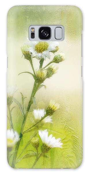 Wild Flowers Galaxy Case by Joan Bertucci