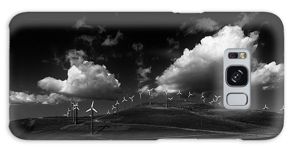Windmill Electric Power Station Galaxy Case