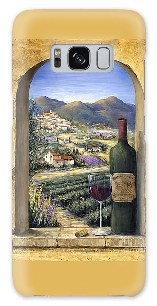 Outdoors Galaxy Case - Wine And Lavender by Marilyn Dunlap