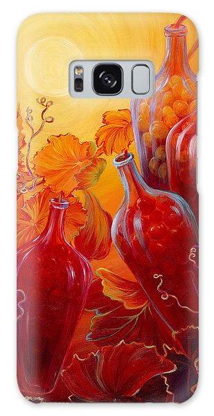 Wine On The Vine II Galaxy Case