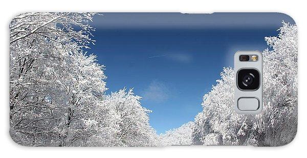 Winter Day Galaxy Case