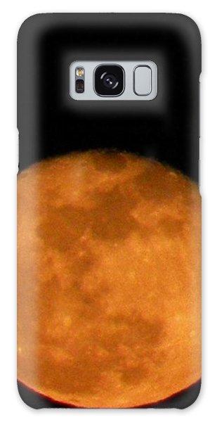 Winter Moon Galaxy Case by Carlee Ojeda