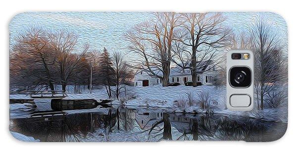 Winter Reflection Galaxy Case by Jewels Blake Hamrick