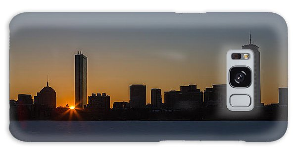 Winter Sunrise On The Charles II Galaxy Case
