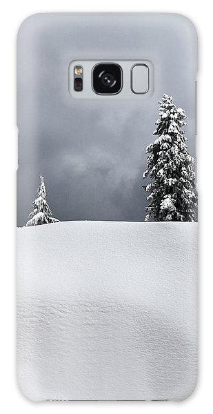 Winter Trees Galaxy Case