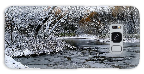 Winter Wonderland Galaxy Case by Larry Trupp