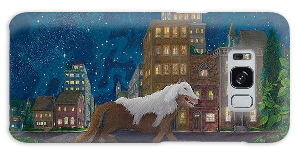 Wolf In Sheep's Clothing Galaxy Case by Matt Konar