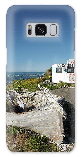 Caravan Galaxy Case - Wooden Dinghy, And Nins Bin Lobster by David Wall