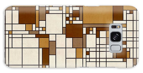 World Map Abstract Mondrian Style Galaxy Case