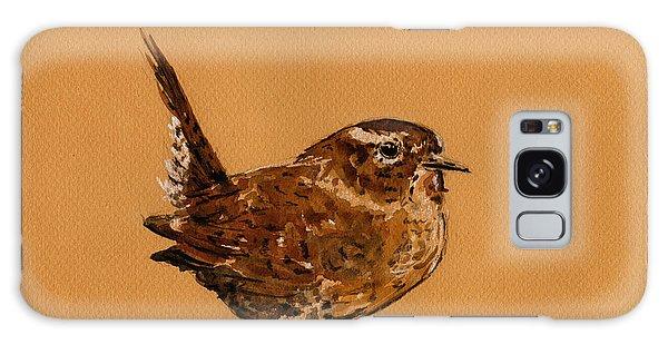 Wren Galaxy S8 Case - Wren Bird by Juan  Bosco