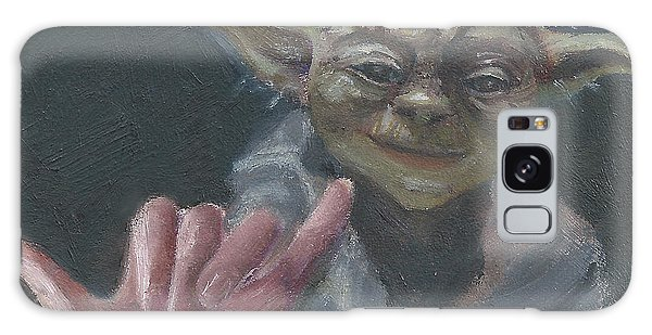 Y Is For Yoda Galaxy Case