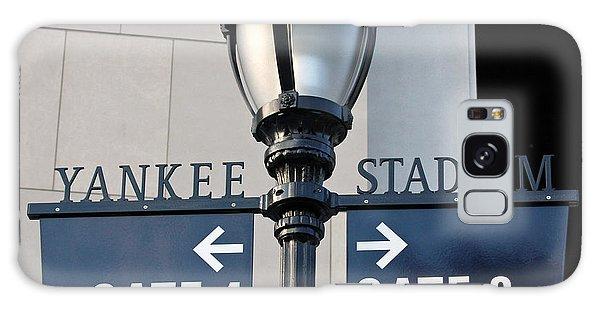 Yankee Stadium Sign Post Galaxy Case