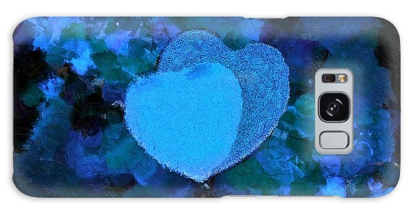 You Changed My Life Blue Galaxy Case by Holley Jacobs