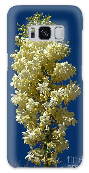 Yucca In Bloom Galaxy Case by Jane Axman