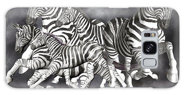 Majestic Galaxy Case - Zebras  by Betsy Knapp