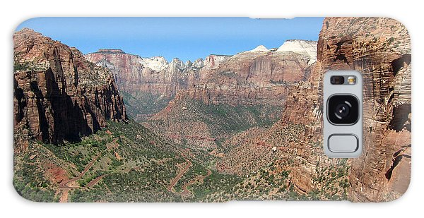 Zion Canyon Overlook Galaxy Case