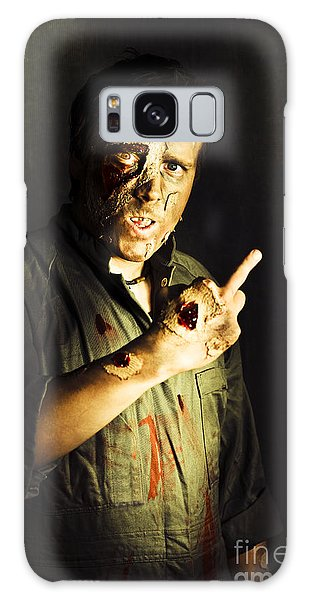 Voodoo Galaxy Case - Zombie Death Threat by Jorgo Photography - Wall Art Gallery