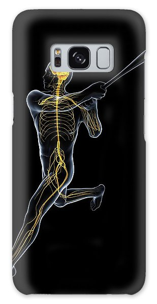 Nervous System Galaxy Case - Baseball Player by Sciepro/science Photo Library