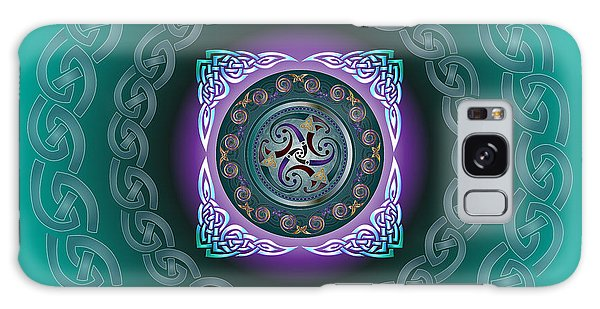 Celtic Pattern Galaxy Case