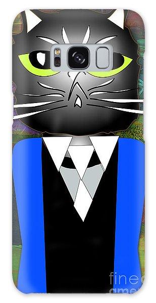 Cool Cat Galaxy Case