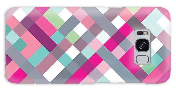 Geometric Art Galaxy Case by Mike Taylor