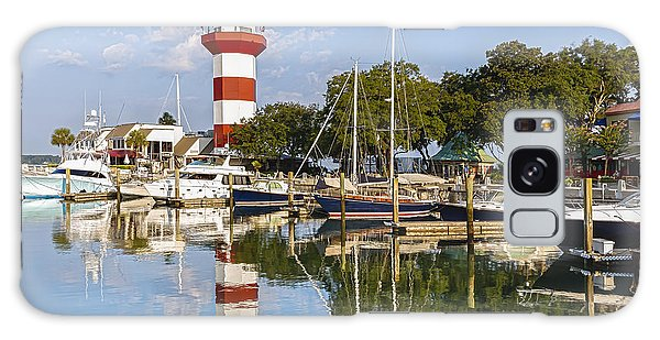 Lighthouse On Hilton Head Island Galaxy Case