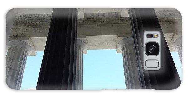 Lincoln Memorial Galaxy Case