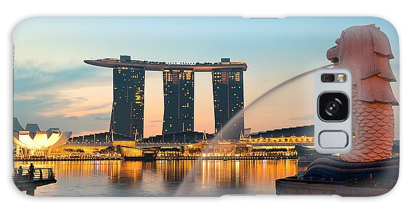 Singapore Skyline Galaxy Case